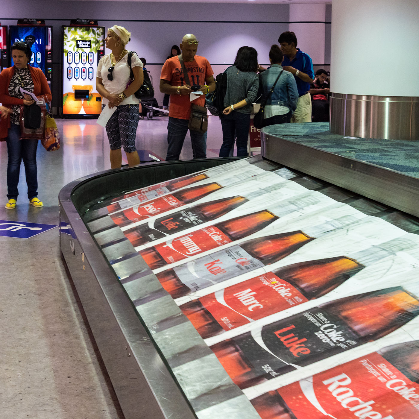 conveyer belt advertising